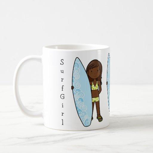 SurfGirl Taza De Café