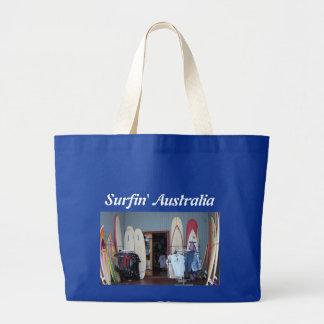 Surfin' Australia Large Tote Bag