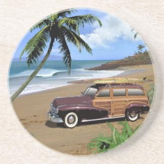 Surfin' Hawaii Drink Coaster