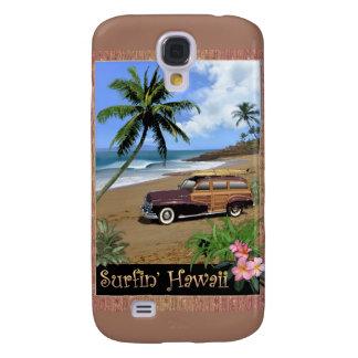 Surfin Hawaii Funda Para Galaxy S4