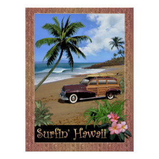 Surfin Hawaii Posters