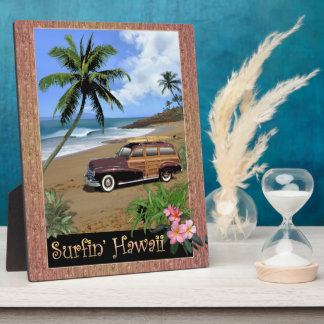 Surfin' Hawaii Display Plaques