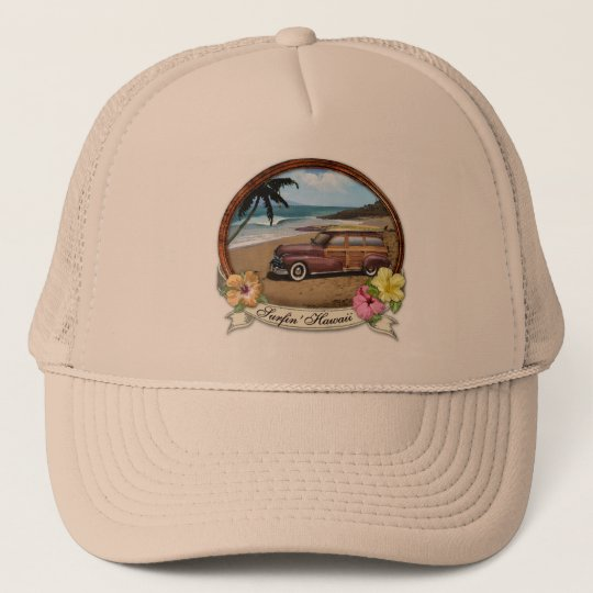 Surfin' Hawaii Trucker Hat