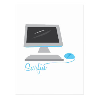 Surfin Postcard