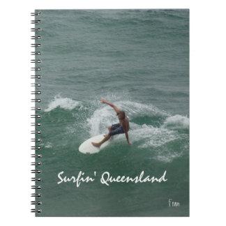 surfin Queensland Note Book
