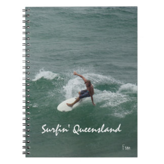 surfin' Queensland Notebook