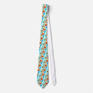 Surfin Santa Design Tie