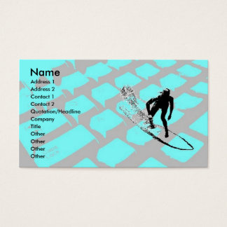 Surfin The Net Profile Card