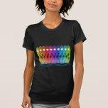 surfin' the rainbow tshirt