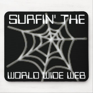 Surfin' the Web Mousepad