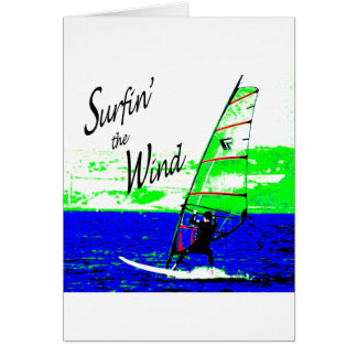 Surfin the Wind Card