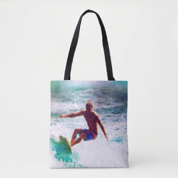 Beach Themed Surfin Tote