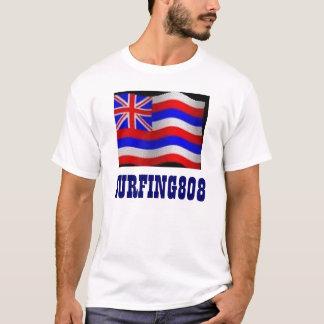 SURFING808w/Hawaii Flag T-Shirt
