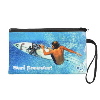 Surfing 1 Wristlets Bag