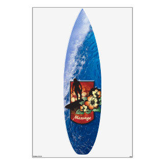 Surfing 3 Wall Decals