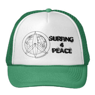 Surfing 4 Peace Trucker Hat