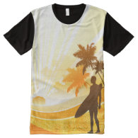 Surfing 7 All-Over print t-shirt