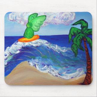 Surfing Angel Raphael Mousepad