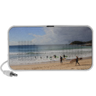 surfing at manly beach iPhone speaker