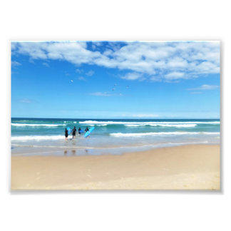Surfing Australia Art Photo