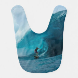 Surfing Baby Bib