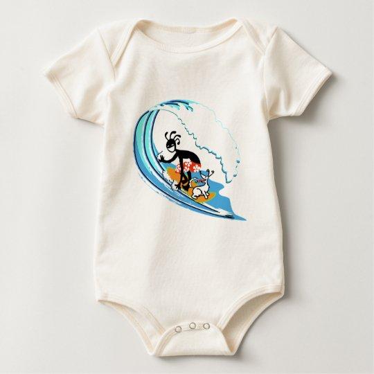 Surfing Baby Bodysuit