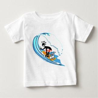 Surfing Baby T-Shirt