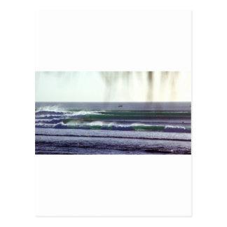 Surfing Bali paradise waves Postcard