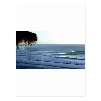 Surfing Bali Postcard