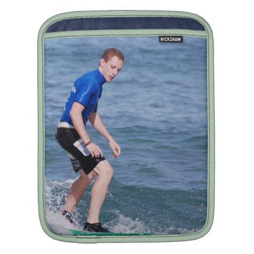 Surfing Basics iPad Sleeve