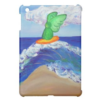 Surfing Beach Angel Raphael iPad Case