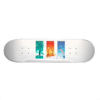 Surfing, Beach Volleyball, Swimming For Summer Fun Skateboards