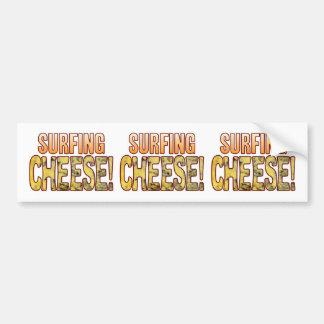 Surfing Blue Cheese Bumper Sticker