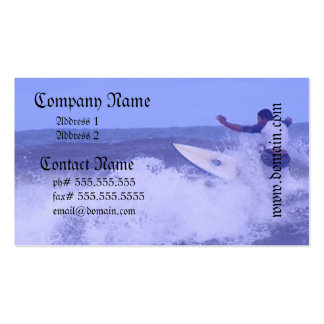 Surfing Business Cards