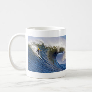 Surfing Catching a Big Wave Coffee Mug