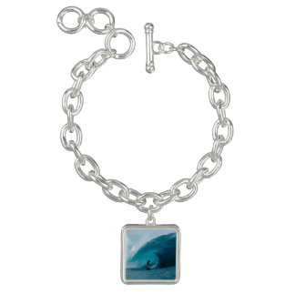Surfing Charm Bracelet