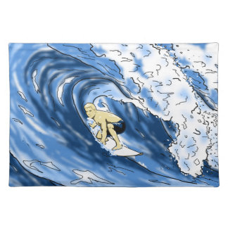 Surfing Cloth Placemat