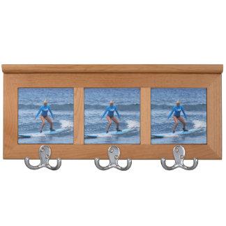 Surfing Coat Rack