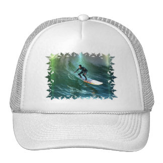 Surfing Competition Baseball Hat