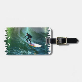 Surfing Competition Luggage Tag