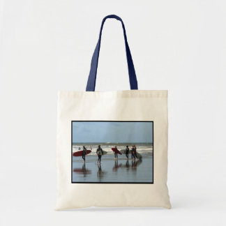 Surfing Crowd Small Tote Bag