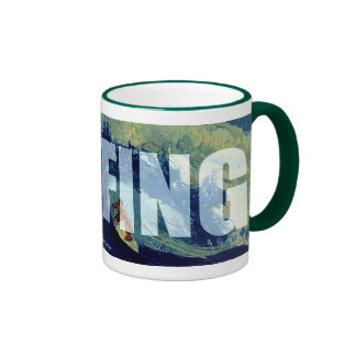 Surfing Cup I'd Rather be Surfing Coffee Mug Cup