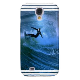 Surfing Curl iPhone 3G Case Samsung Galaxy S4 Case