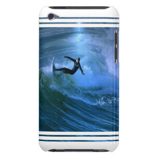 Surfing Curl iTouch Case Barely There iPod Cover