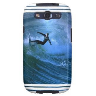 Surfing Curl Samsung Galaxy Case Samsung Galaxy SIII Cover