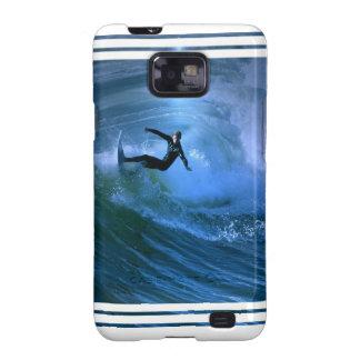 Surfing Curl Samsung Galaxy Case Galaxy S2 Cover