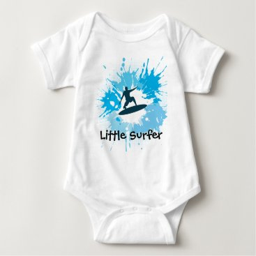 Toddler & Baby themed Surfing Customizable Baby Clothing Baby Bodysuit