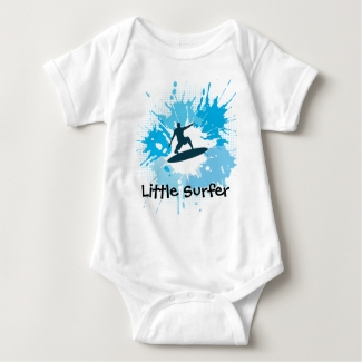 Surfing Customizable Baby Clothing