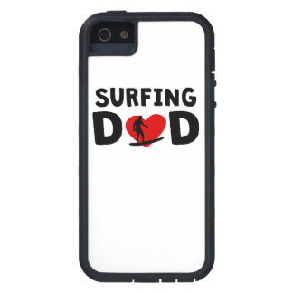 Surfing Dad iPhone 5 Cases
