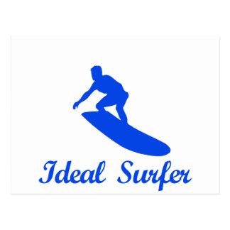 SURFING DANCE designs Postcard